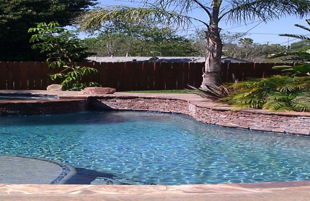 Custom Pool Spa Gunite Pool